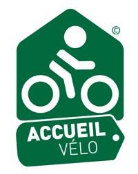 Accueil Vélo (Cyclist Welcome) Logo