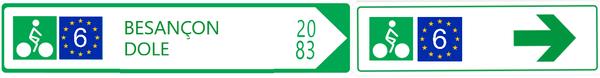 Signalisation panneaux EV6