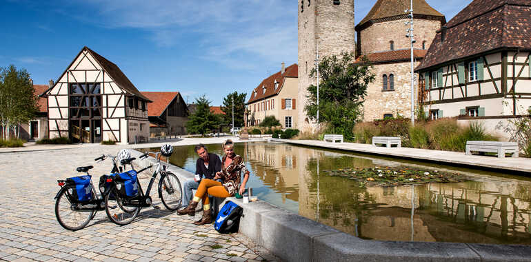 EuroVelo 15, Alsace – Kembs Neuf-Brisach