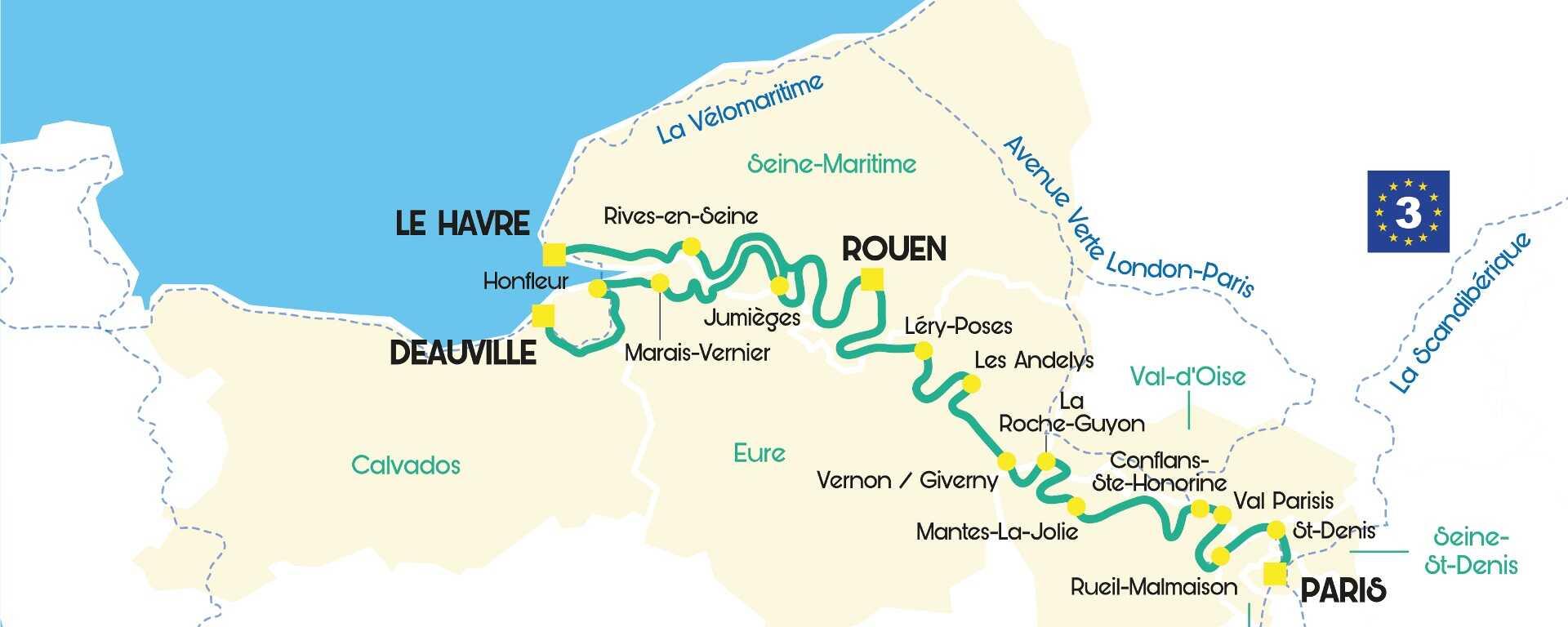 La Seine A Velo Un Nouvel Itineraire