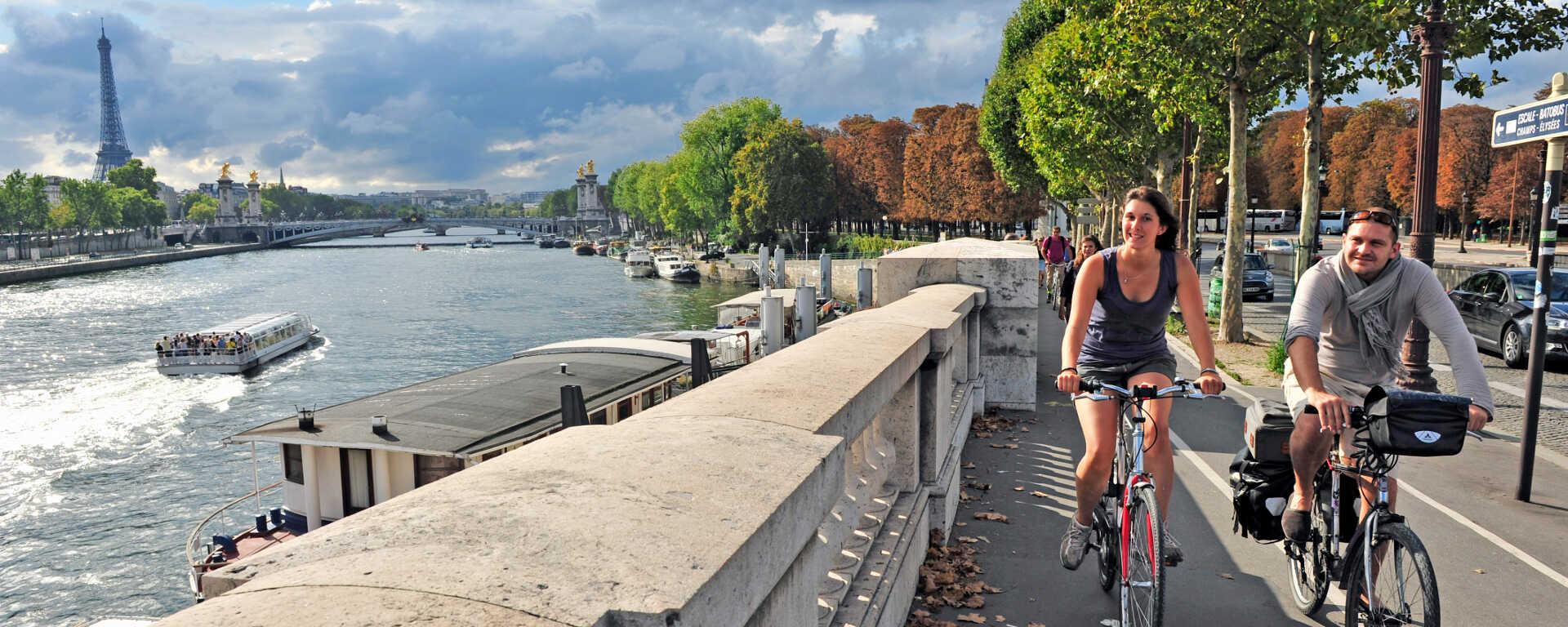 Paris à vélo : pistes cyclables et balades à proximité