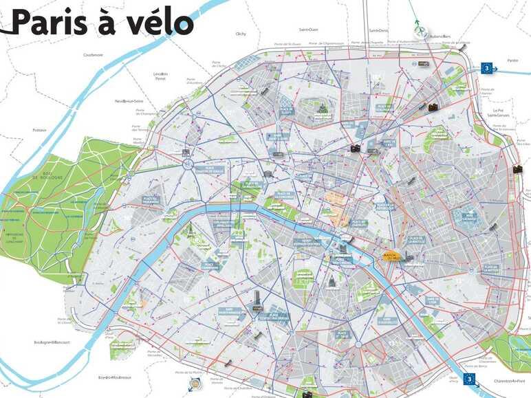 Paris A Velo Pistes Cyclables Et Balades A Proximite